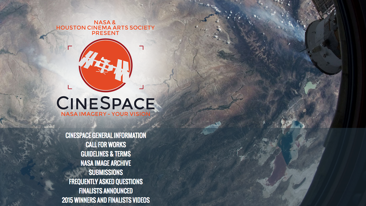 NASA and HCAS Create CineSpace Film Competition